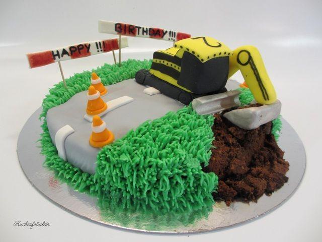 Bagger Torte Katharina Sittner Kinder Kuchen Torte Kindergeburtstag