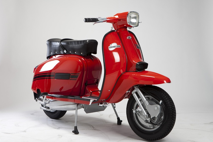 Lambretta GP. The only lambretta model left in the garage.
