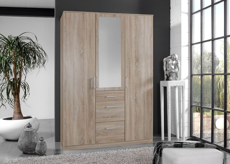 Nice Kleiderschrank Click Eiche S gerau Buy now at https
