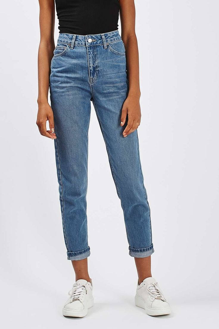 MOTO Cheeky Rip Mom Jeans - New In This Week - New In