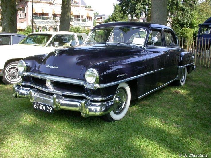 17 best images about antique cars rear seat 1951 chrysler windsor deluxe 4 door sedan