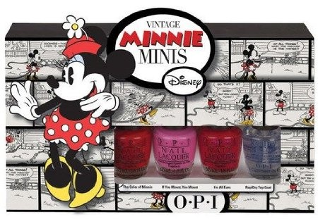 OPI Vintage Minnie Mini's Collection, 4 Mini Polishes