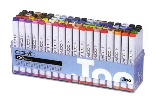Copic Markers: This Generation's Medium - The Painted Word