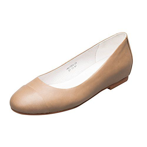 KANGNAI Women's Casual Leather Ballet Shoes Comfort Slip On Flats Shoes (6.5, Camel) - Ballet flats are incredibly stylish and designed to be super comfortable. Rubber sole makes the shoes skidproof and wearable. The design of glove shoes caters to the fashion of granny chic, which is suitable for ladies of all ages. Please select US size compare with below: US6=EUR36=UK3.5US6.5=EU...