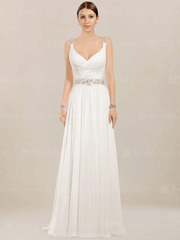 46 besten Beach Wedding Dresses Bilder auf Pinterest ...
