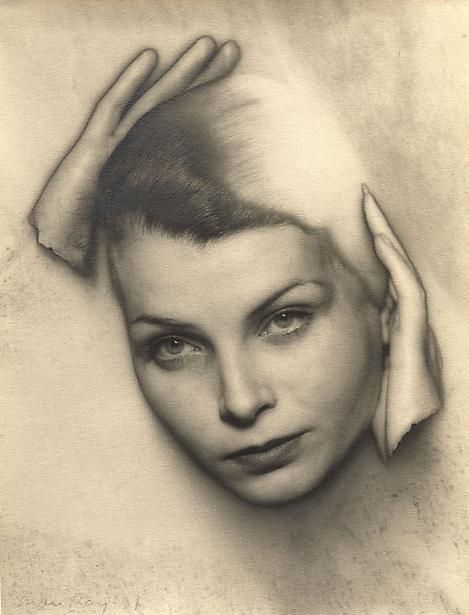 Solarized Portrait of Mary Gill, 1931