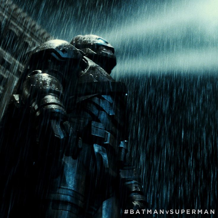 """Twenty years in Gotham, how many good guys are left?"" #BatmanvSuperman"