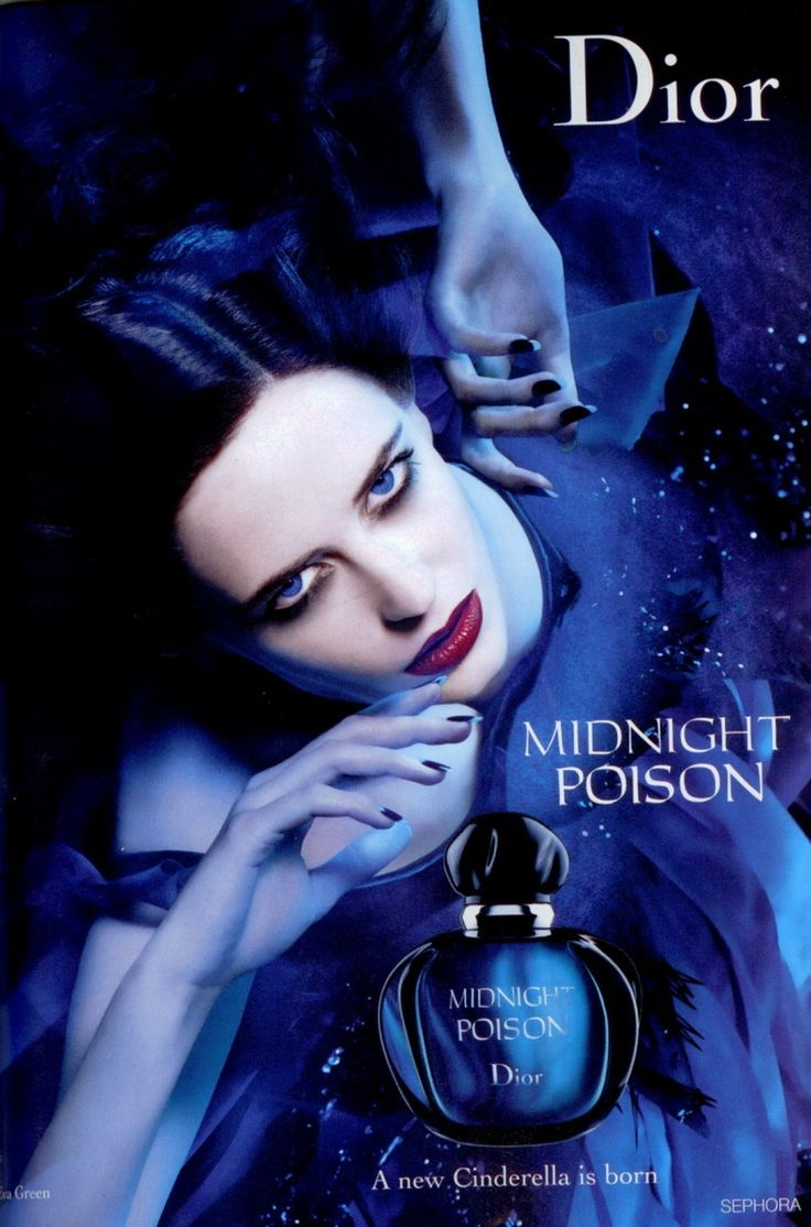 Midnight Poison by Christian Dior with Eva Green (2007).