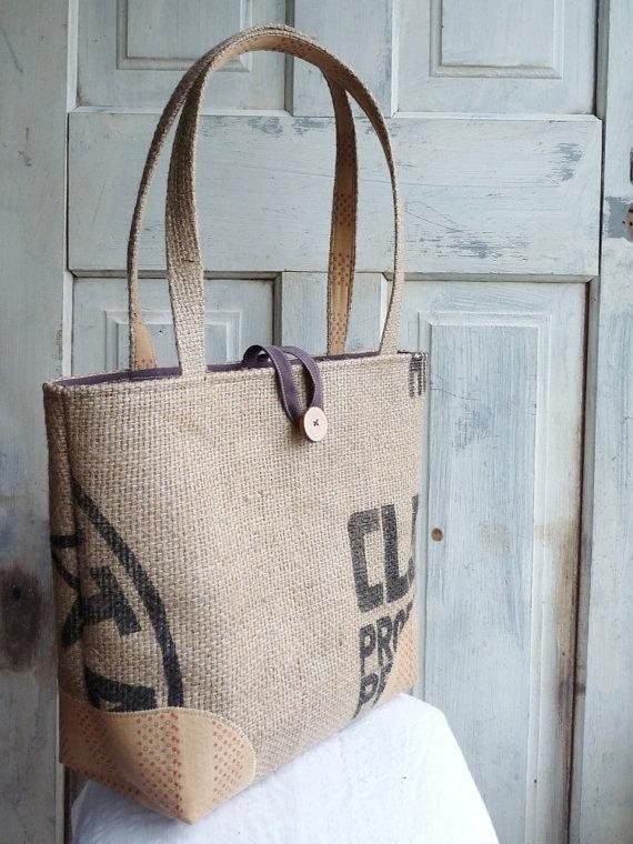 14 best burlap bag ideas images on pinterest burlap for Burlap bag craft ideas