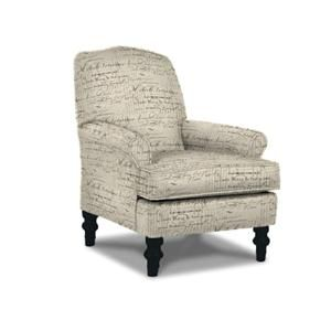 Tyne Accent Chair in Transitional Tapestry | Nebraska Furniture Mart