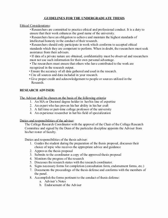 25 Undergraduate Research Proposal Examples In 2020 Research