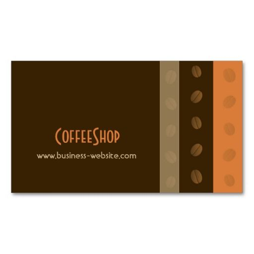 284 best coffee shop business cards images on pinterest for Best way to store business cards