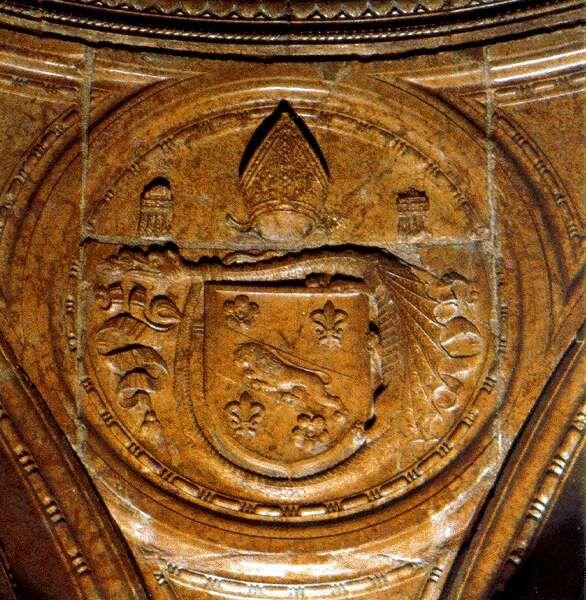 Szatmári György címere- Esztergom,Bakócz-kápolna