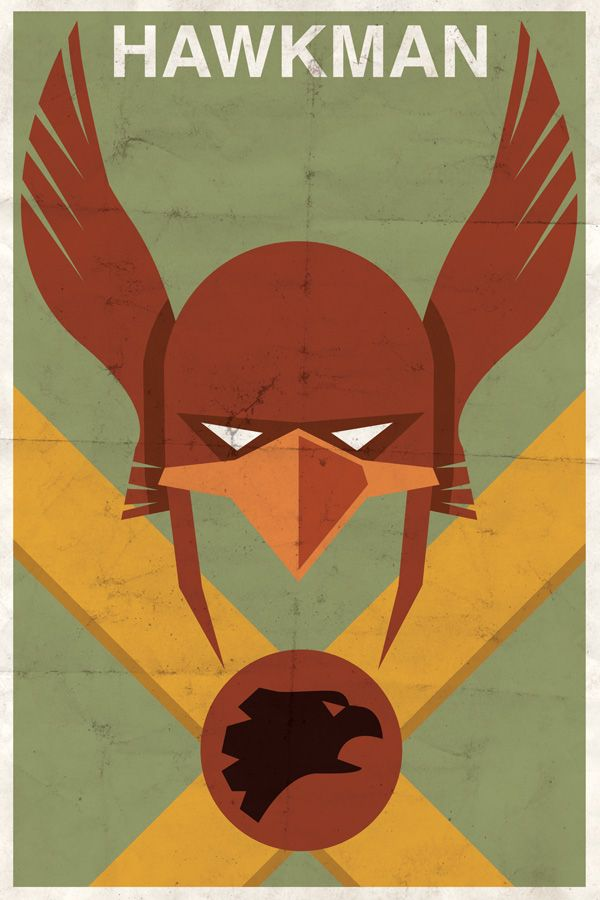 Hawkman? I've no idea who that is!