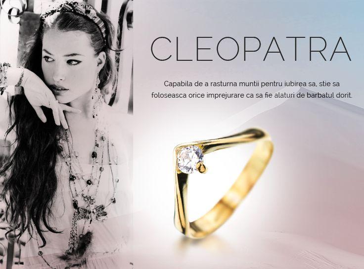 Colectia Cleopatra  #MadeInRomania #IneleDeLogodna www.coriolan.ro