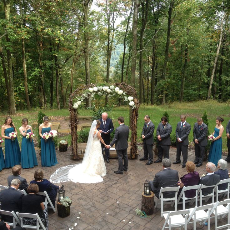 outdoor wedding ceremony sites in akron ohio%0A Mohican mountain like wedding venue