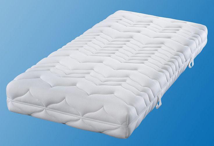 Die my home Luxus-Komfortschaummatratze (baugleich mit f.a.n. Climasan Plus S) mit 7 körpergerechten Zonen, sorgt für eine hochkomfortable, anatomisch korrekte Stützung des Körpers mit guter Druckverteilung. Durch den flexiblen Schaumkern mit speziellem Konturenschnitt (Querprofilierung) besteht eine ausgezeichnete Klimaregulierung. Der anschmiegsame, pflegeleichte Doppeljersey wurde auf Körper...