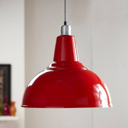 Pendant Light. Kitchen Pendant LightingKitchen PendantsRed ...