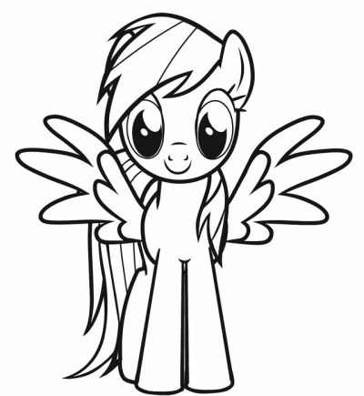 My Little Pony Coloring Pages New 400x