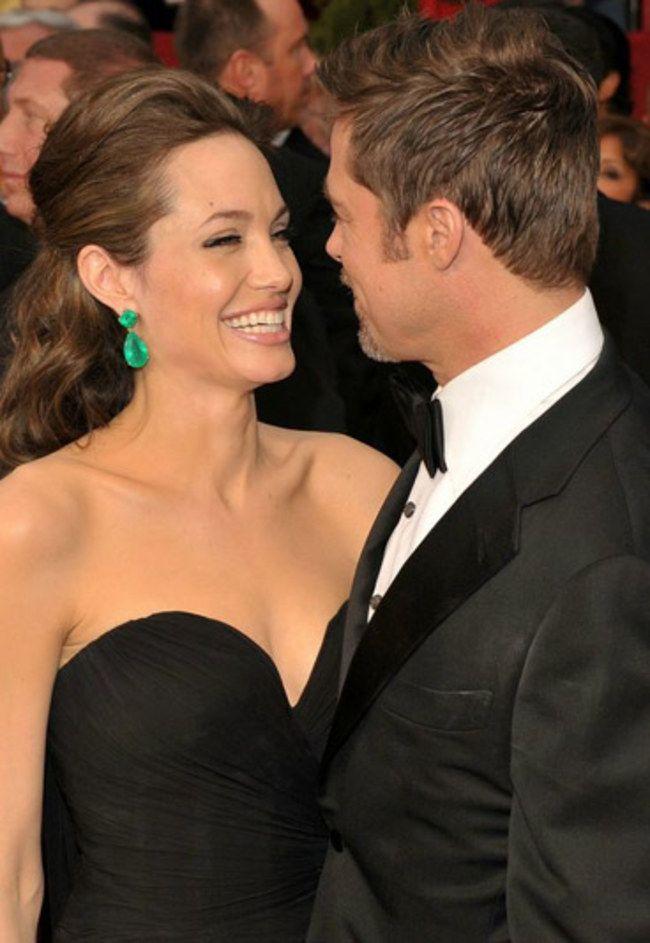 Angelina Jolie e Brad Pitt.