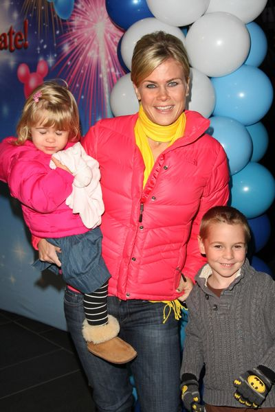 Celebs at the Disney on Ice Lets Celebrate! premiere: Alison Sweeney, Pin Wall, Real Celebrity, Premier Celebrity, Disney On Ice, Adorable, Celebs, Random Pin, Families