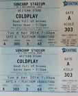 #Ticket  Coldplay Concert Tickets #Australia