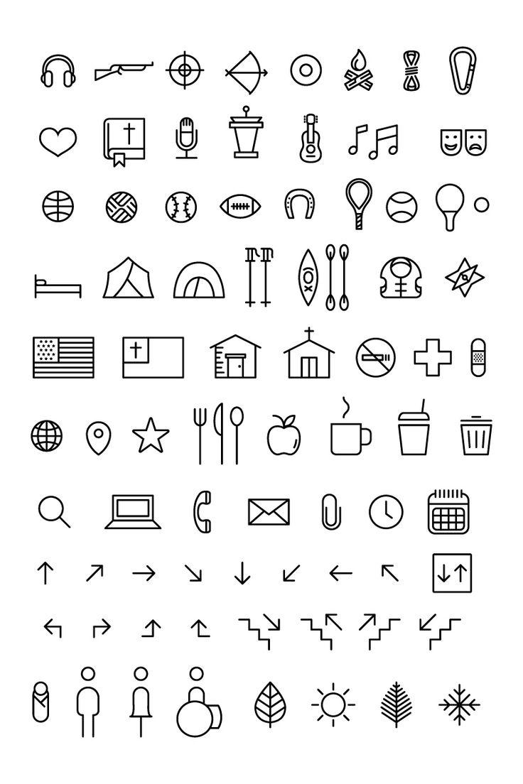 lovely minimal icon style: survival  by matt yow
