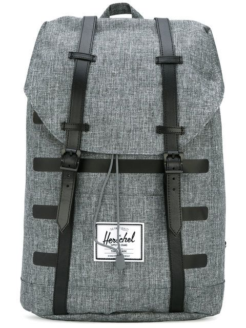 HERSCHEL SUPPLY CO. Retreat backpack. #herschelsupplyco. #bags #leather #polyester #backpacks #