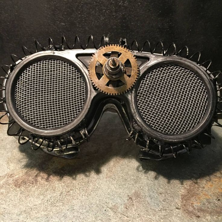 Steampunk Flip Up Goggles, Apocalypse Mad Professor Retro Cosplay Welding Goggles With Burning Man & Mad Max Style Suit Fancy Dress by Steampunkbyben on Etsy