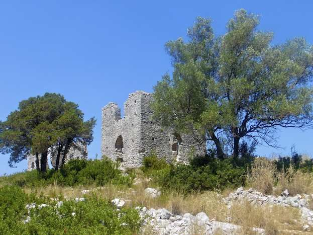 One of our walks on Cephalonia takes you past an early Christian basilica
