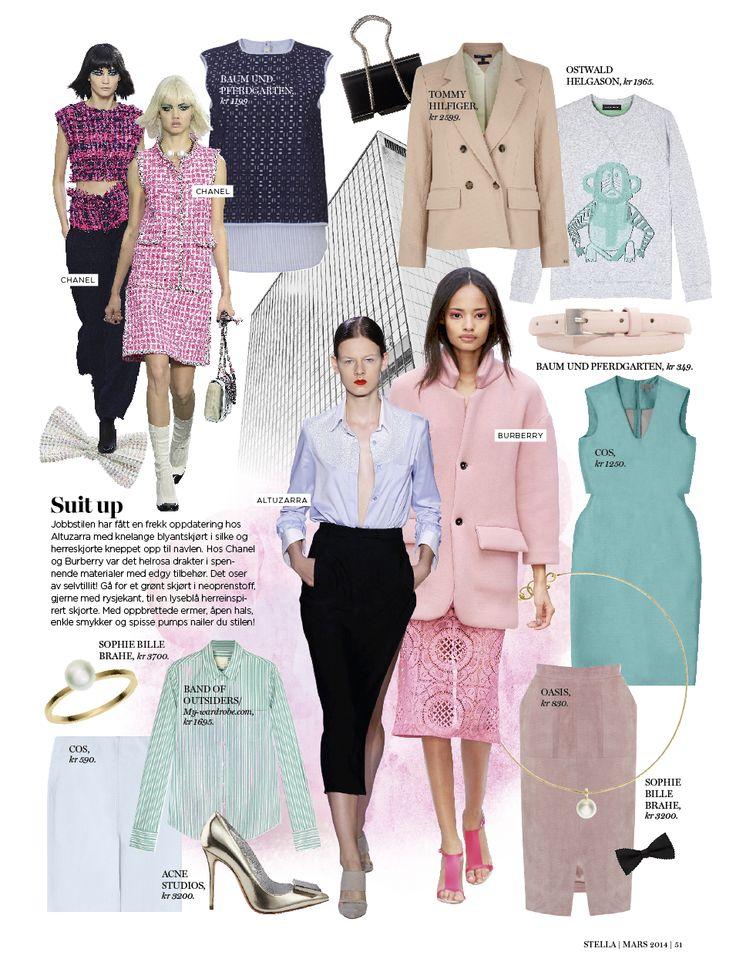 Glamour Magazine Fashion Editor P