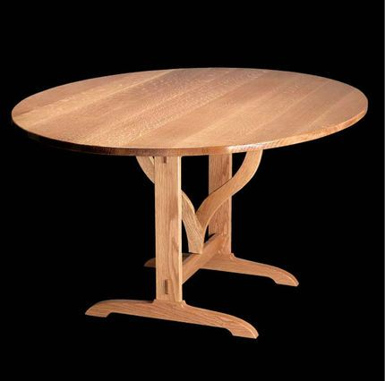 Amazing Drop Leaf Round Table Plans