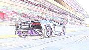"""New artwork for sale! - """" Lamborghini Aventador Lp750 4 Superveloce  by PixBreak Art """" - http://ift.tt/2kQMMF9"""