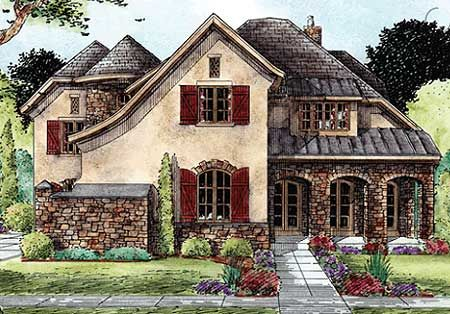 40 best tudor style homes images on pinterest for French tudor house plans