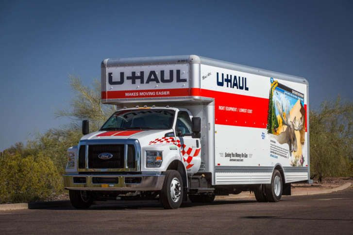 Pin By Jacob Thompson Arnone On U Haul Trucks Small Trucks U Haul Truck Big Trucks