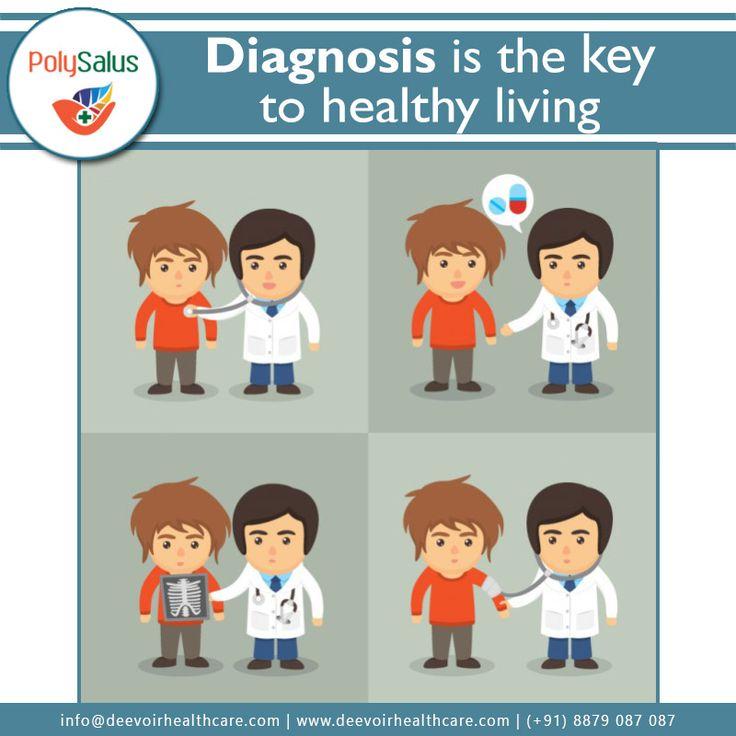 #Diagnose the #symptoms before its too late! #MediacalDiagnosis #Polysalus #HealthCare #Mumbai