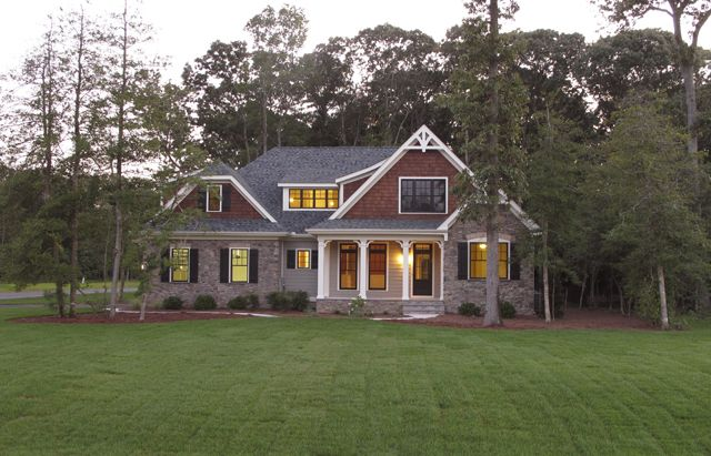 Southern living custom builder lewes building company for Frank betz house plans with photos