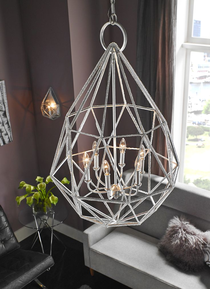 The stunning feiss marquise chandelier enhances the home with ample light and style to match today