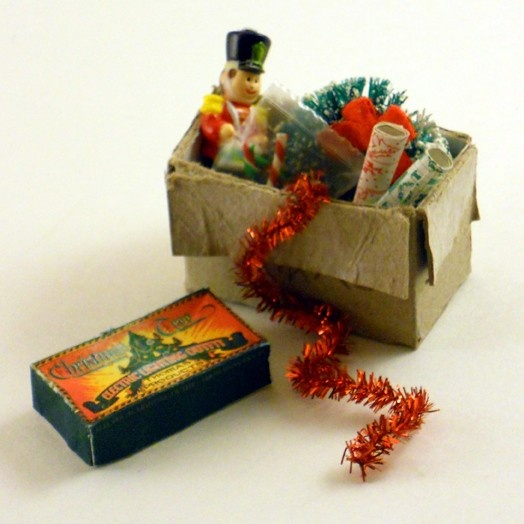 Miniature Christmas Decorations by Diane Costanza Miniatures