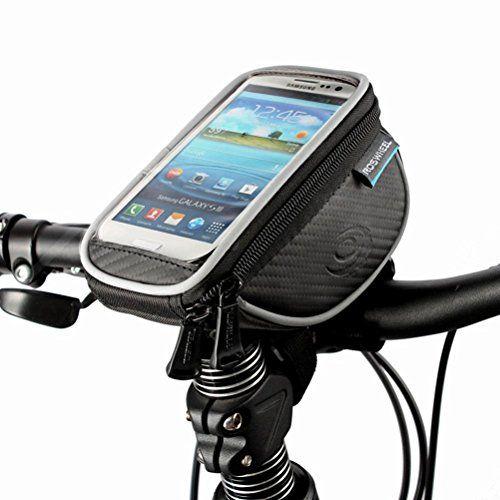 DCCN® Wasserabweisend vordere Satteltasche, Fahrradtasche, Radfahr-Rahmentasche, Oberrohrtasche, Frontseiten-Schlauch-Rahmen Lager Tasche Kopf Schlauchbeutel, Handytasche mit klarer PVC-Abdeckung für Touch-Screen Handys, GPS und Navigation bis zu 5.5 Zoll DCCN http://www.amazon.de/dp/B0114E0D1Q/ref=cm_sw_r_pi_dp_eRCqwb1M7TCW1