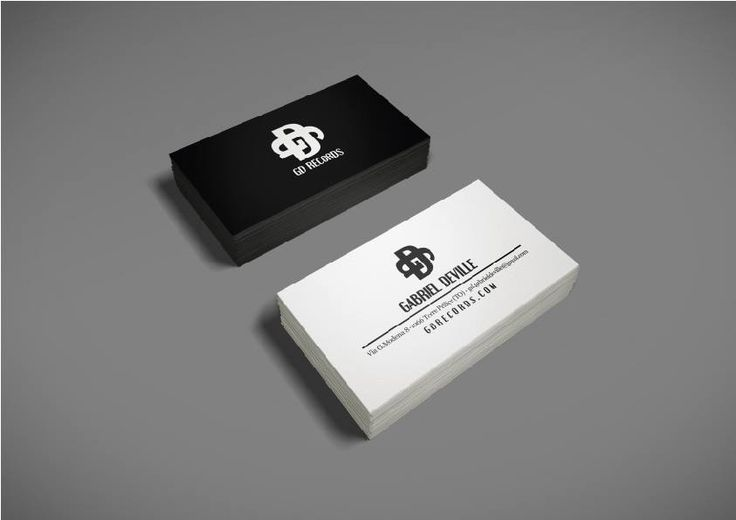 GD Records corporate identity