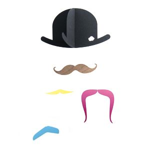 Mr.Moustache by Jall & Tofta http://bcbasics.com/?pid=65860953