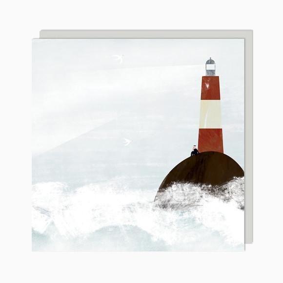 Grußkarte - Lighthouse Keeper