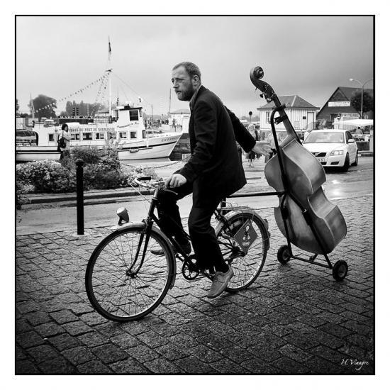 Vélo violoncelle, Patrick Plazzi