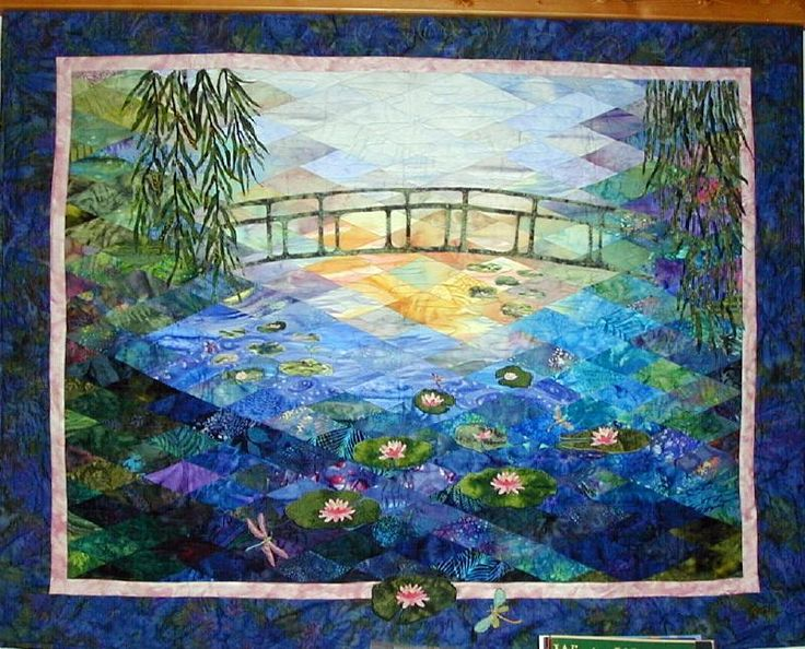 Quilt Inspiration: Monet's Garden: Impressionism and ...