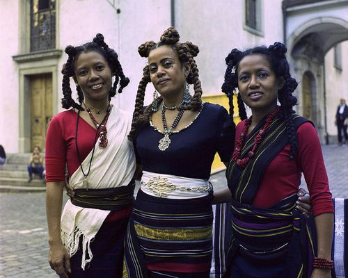 Madagascar:  The music of the Malagasy group, Tiharea.  Tiharea (Wealth) is a Malagasy trio of 3 sisters, originally from Androy, a Southern part of Madagascar.  Established in 1997, Tiharea sing in Antandroy, a southern language of Madagascar.  Mostly singing in acapella, each member is also an accomplished traditional instrumentalist.  Together the sisters compose original creations and traditional songs which explore the rich, diverse culture of Madagascar