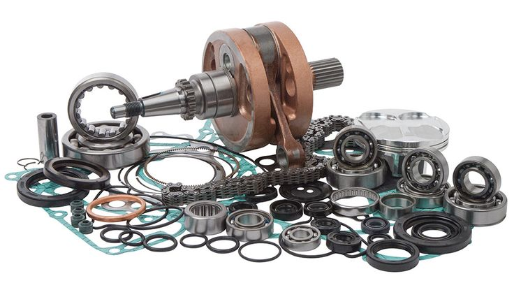 Wrench Rabbit WR101-020 Complete Engine Rebuild Kit for 2005 Honda CRF250R
