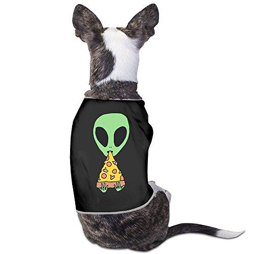 An Alien Eating Pizza Pet Outsiders Summer Doggie Rigger