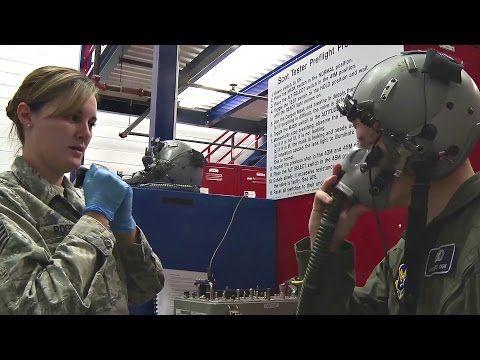 USAF Flight Helmet and Oxygen Mask Sizing