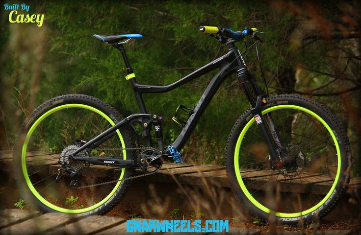 Neon 2014 Giant Trance X Advance 27.5 - Girthbikes's Bike Check - Vital MTB